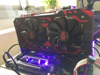 簡單入手 迪兰红恶魔 RX580 RED DEVIL 评测与換遊戲心得